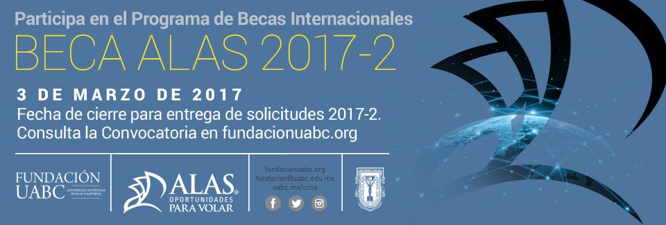 Beca ALAS de Fundación UABC