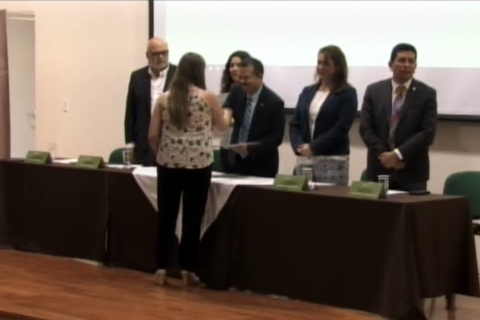 Ceremonia de entrega de becas de Fundación UABC