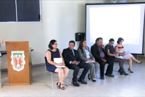 Presentación de propuestas de aspirantes a la Dirección de la Escuela de Ciencias de la Salud, Ensenada.