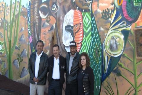 Embedded thumbnail for  Inauguración mural Facultad de Ciencias