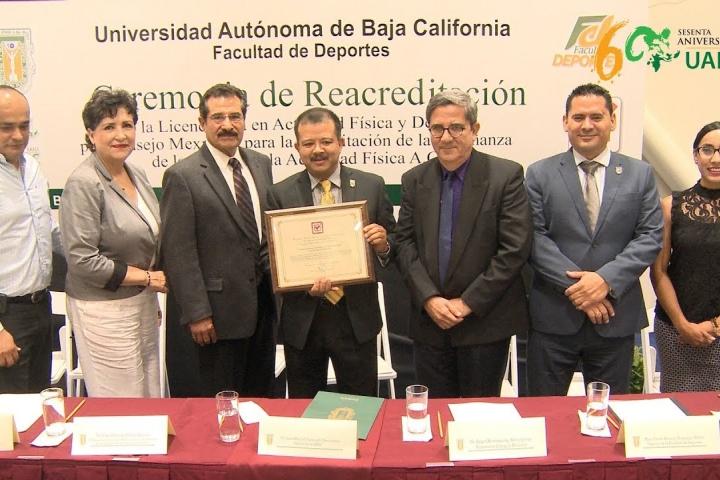 Embedded thumbnail for Se consolida Facultad de Deportes de UABC