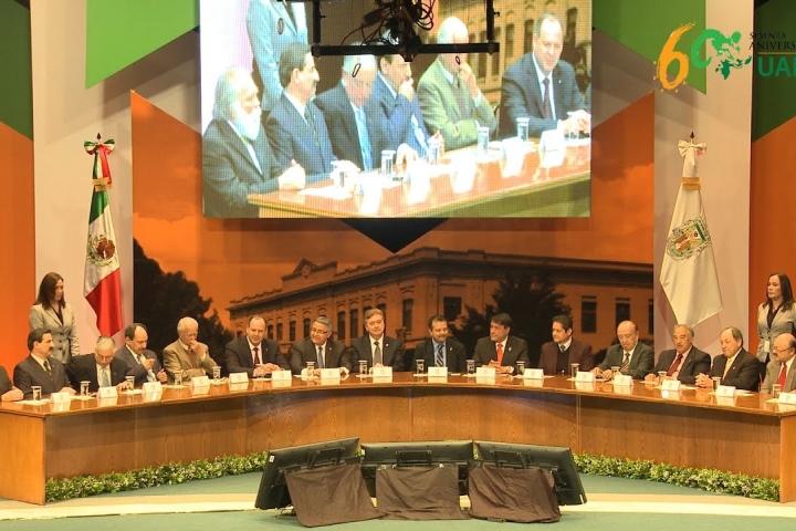 Embedded thumbnail for Ceremonia 60 Aniversario UABC